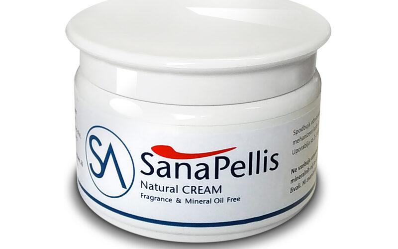 Naravna krema proti hemoroidom Sana Pellis